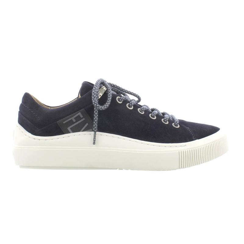 Fly London Some Trainers Navy Suede