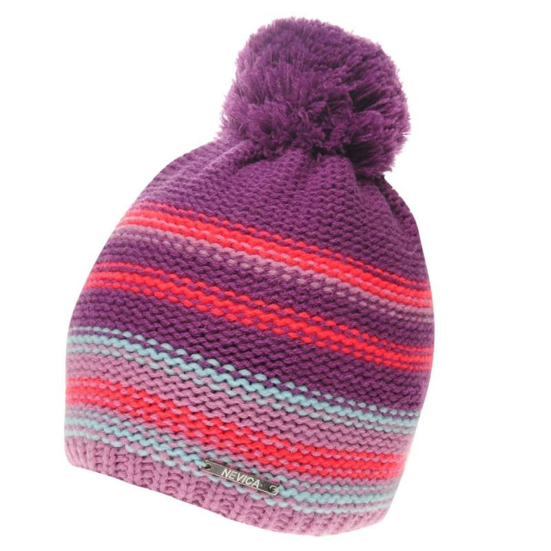 Nevica Ischgl Beanie Hat Ladies Fushia/Fushia