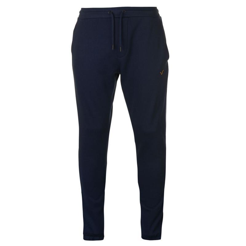 Tepláky VOI Contrast Jogging Pants Mens Navy