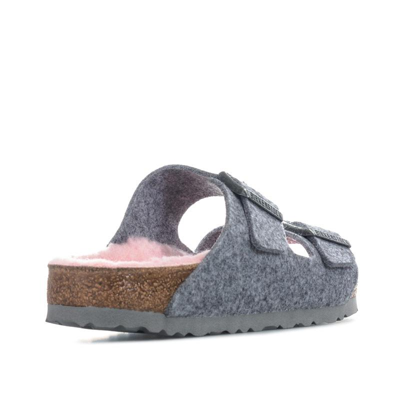 Boty Papillio Womens Arizona Sandals Narrow Width Light Grey