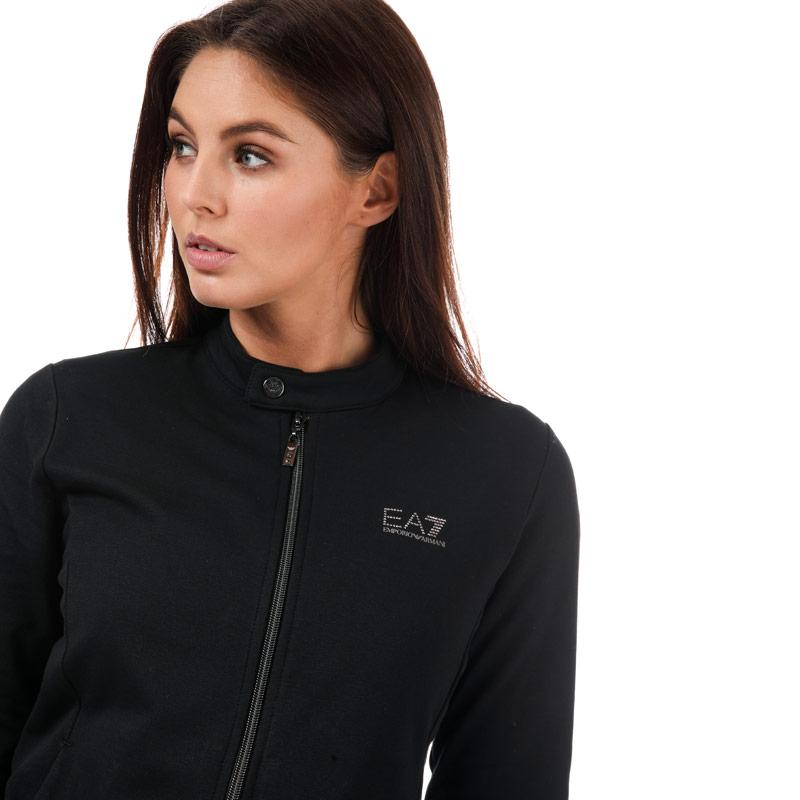 Emporio Armani EA7 Womens Logo Tracksuit Black
