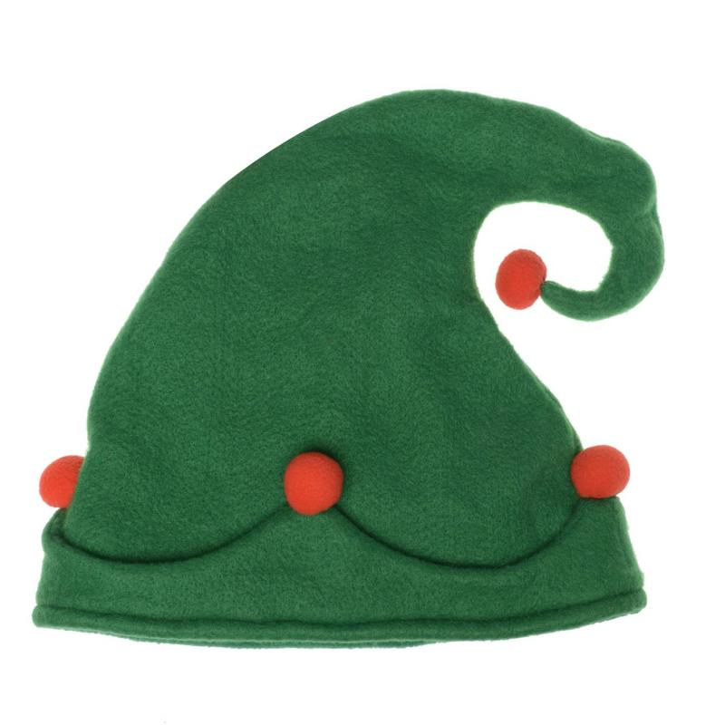 The Spirit Of Christmas Elf Hat Childs Green