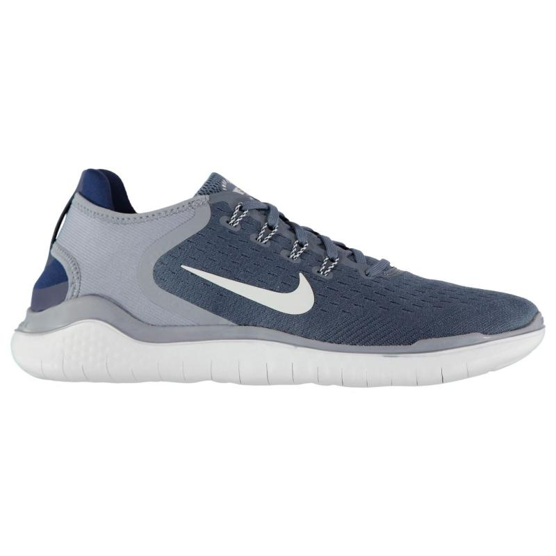 Nike Free Run 2018 Trainers Mens Blue/Grey