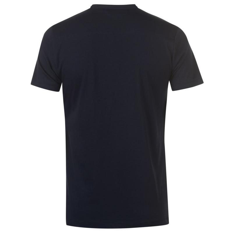 Tričko French Connection Crew T Shirt Mens Marine