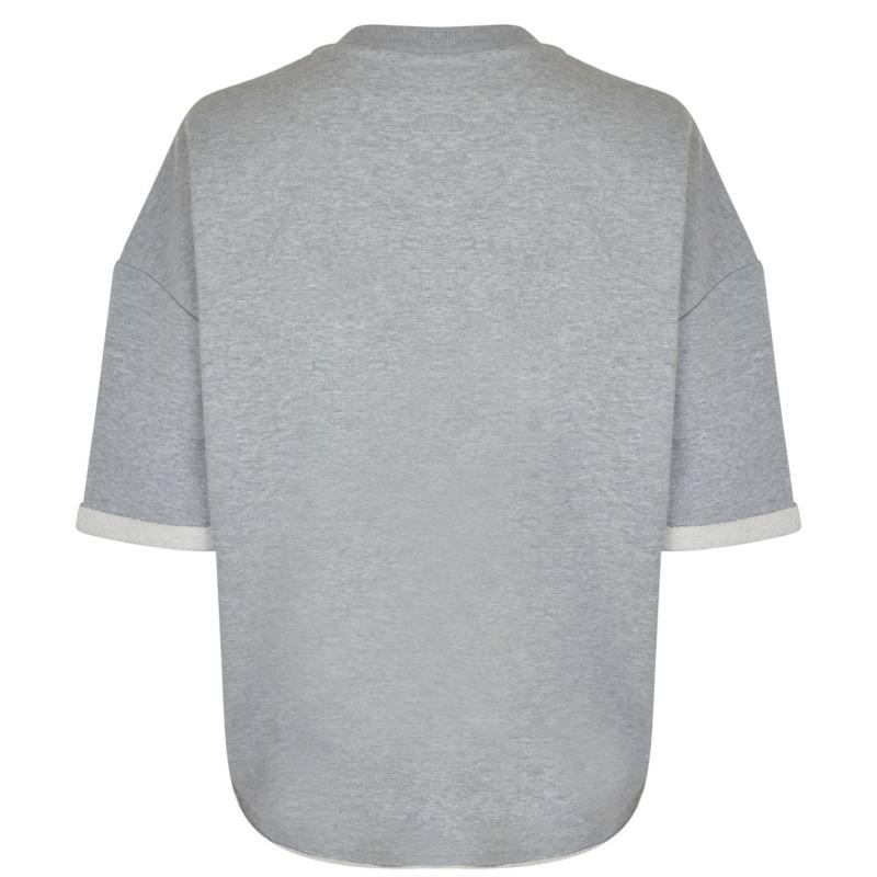 Mikina Kendall and Kylie Pullover Heather Grey