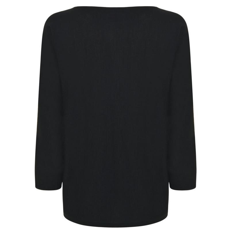Svetr Laurel Knit Jumper Black