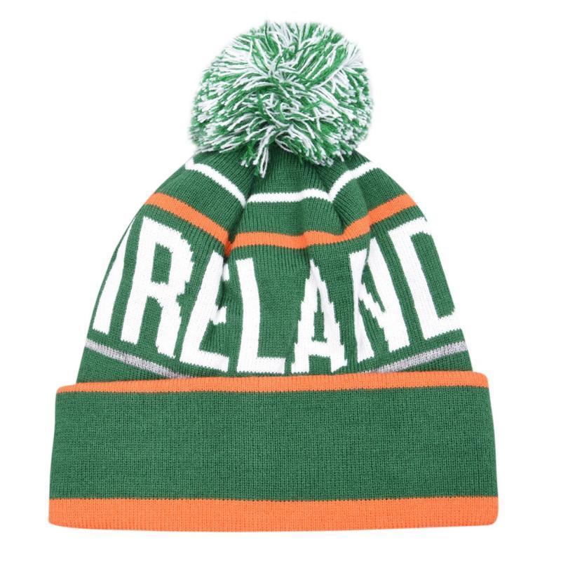 Official Ireland Beanie Senior Green/White