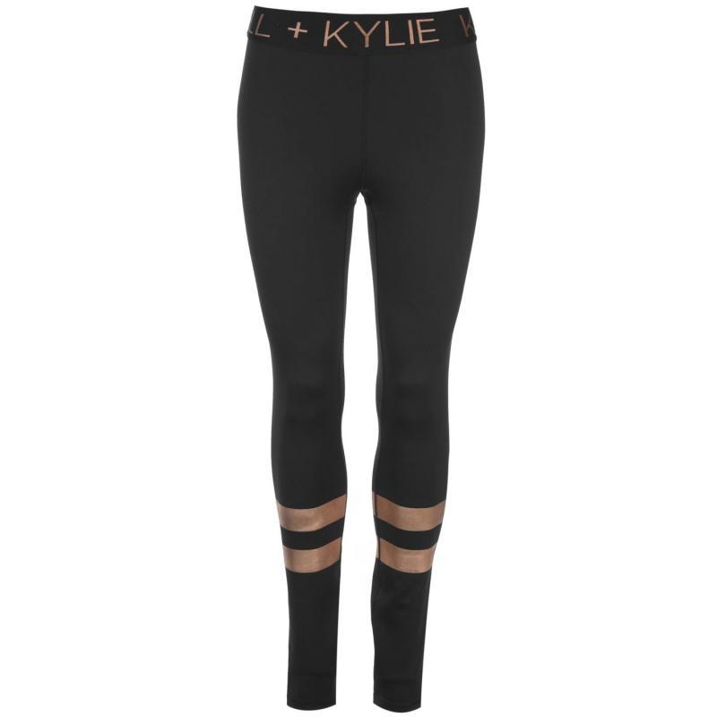 Kendall and Kylie Leggings Black BLK