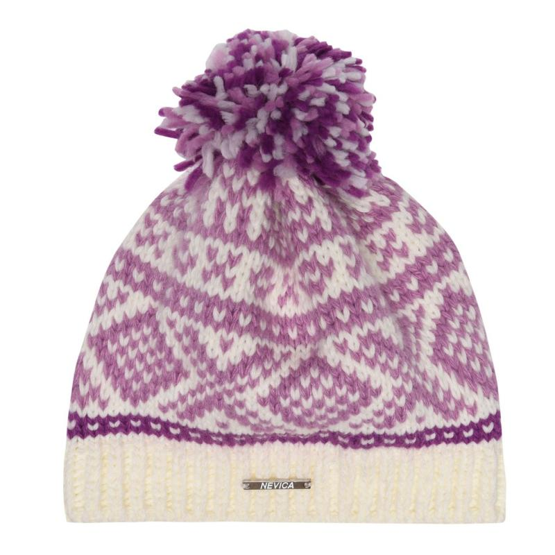 Nevica Vogel Beanie Hat Ladies Purple