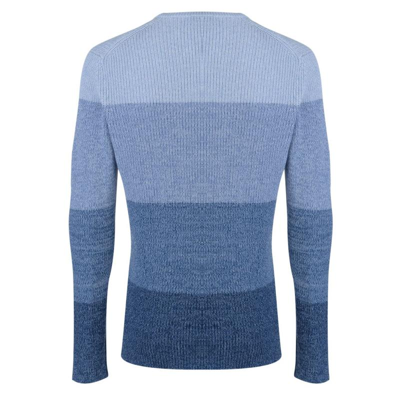 Mikina DKNY Ombre Crew Sweater Mens Blue