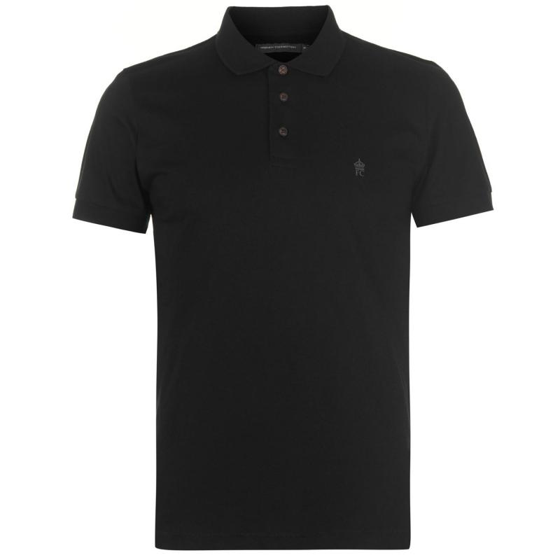 French Connection J Polo Shirt Black