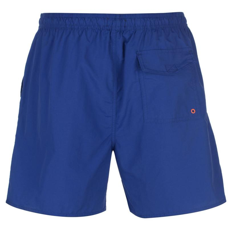 Plavky French Connection Swimming Shorts Mens Blue Mazarine