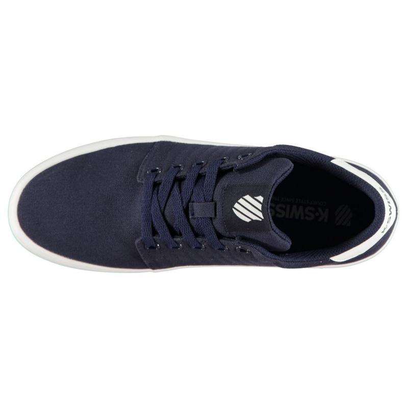K Swiss Backspin Shoes Black Mono