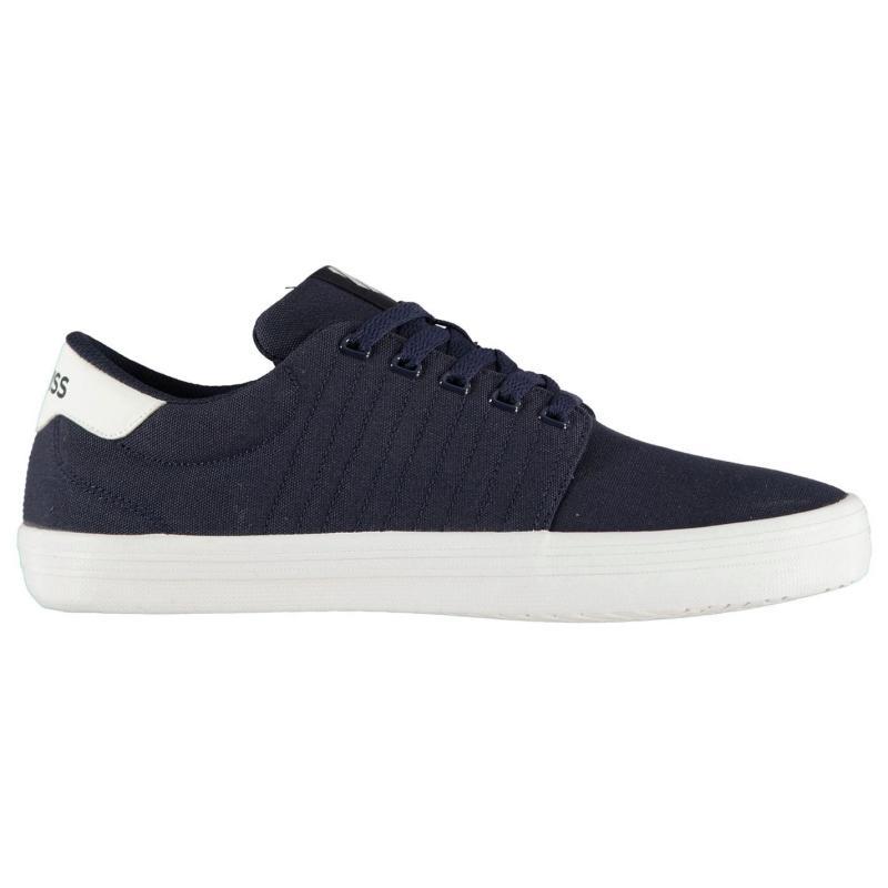 K Swiss Backspin Shoes Navy/White