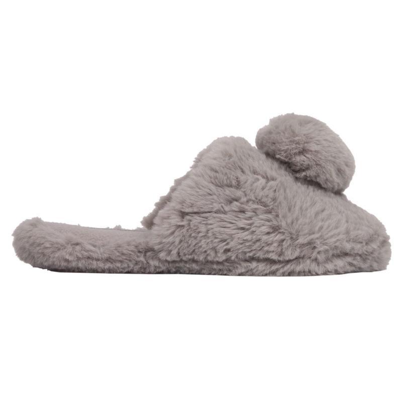 Miso Fifi Mule Ladies Slippers Grey