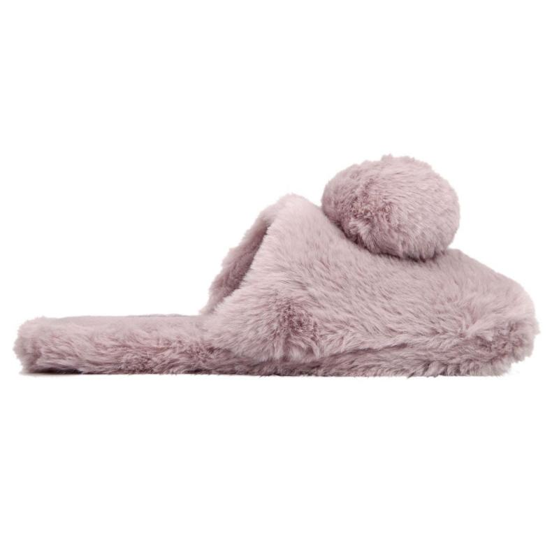 Miso Fifi Mule Ladies Slippers Grey