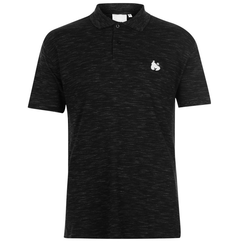 Money Toke Polo Shirt Mens Jet Black