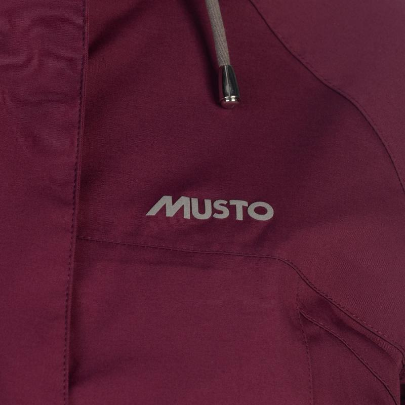 Musto Womens Long Canter Jacket Damson
