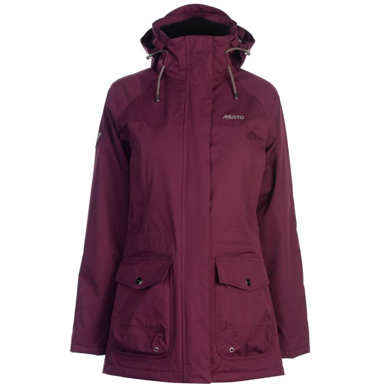 Musto Womens Long Canter Jacket True Navy