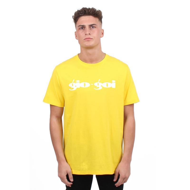 Tričko Gio Goi Core Logo T Shirt Yellow