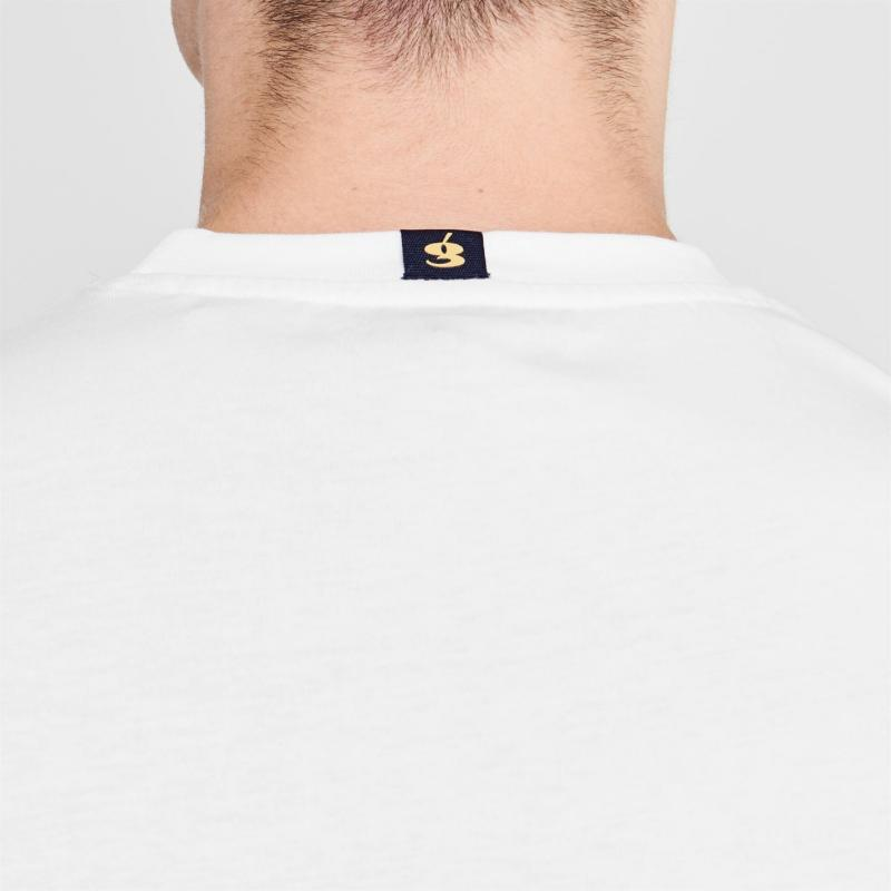 Tričko Gio Goi Core Logo T Shirt Mens White
