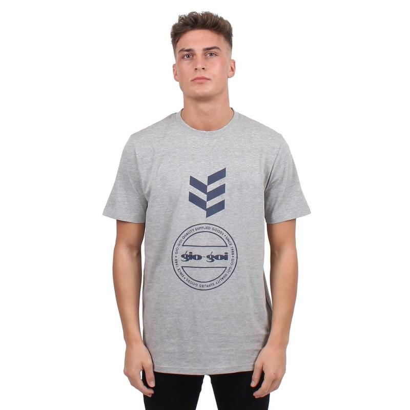 Tričko Gio Goi Graphic T Shirt Black