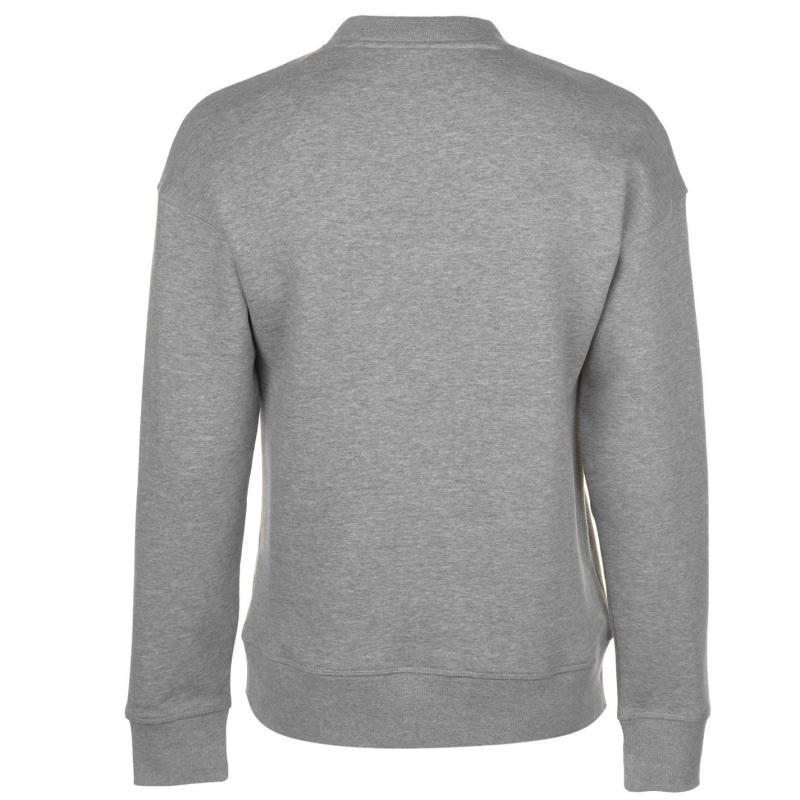 Mikina Jack and Jones Originals Harvey Crew Sweater Lt Grey Mel