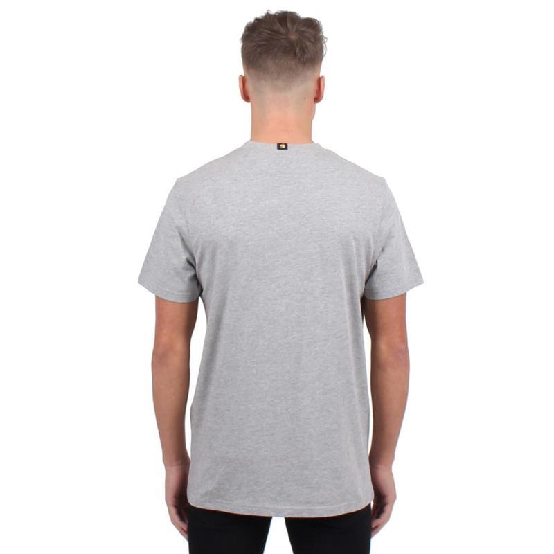 Tričko Gio Goi Small Logo T Shirt Grey Marl/Red