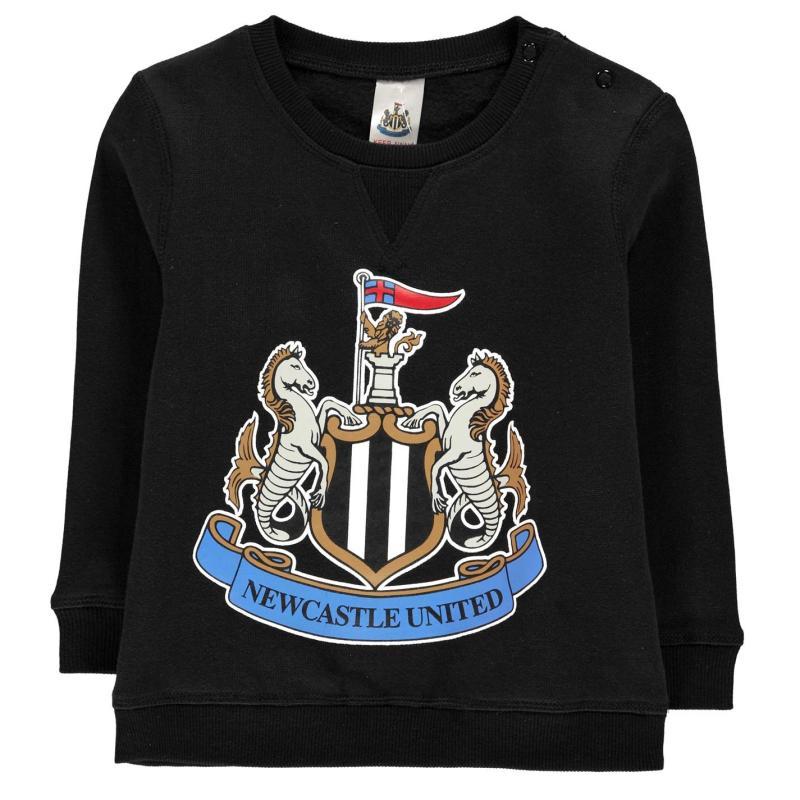 Brecrest Football Sweatshirt Infant Boys Newcastle
