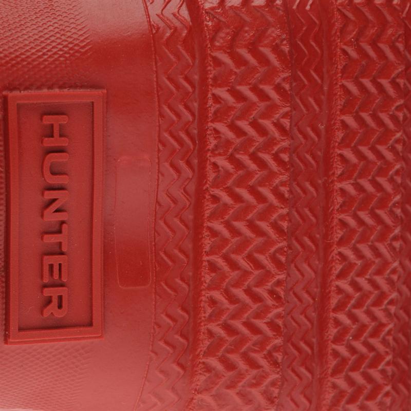 Hunter Original Little Kids Wellington Boots Military Red
