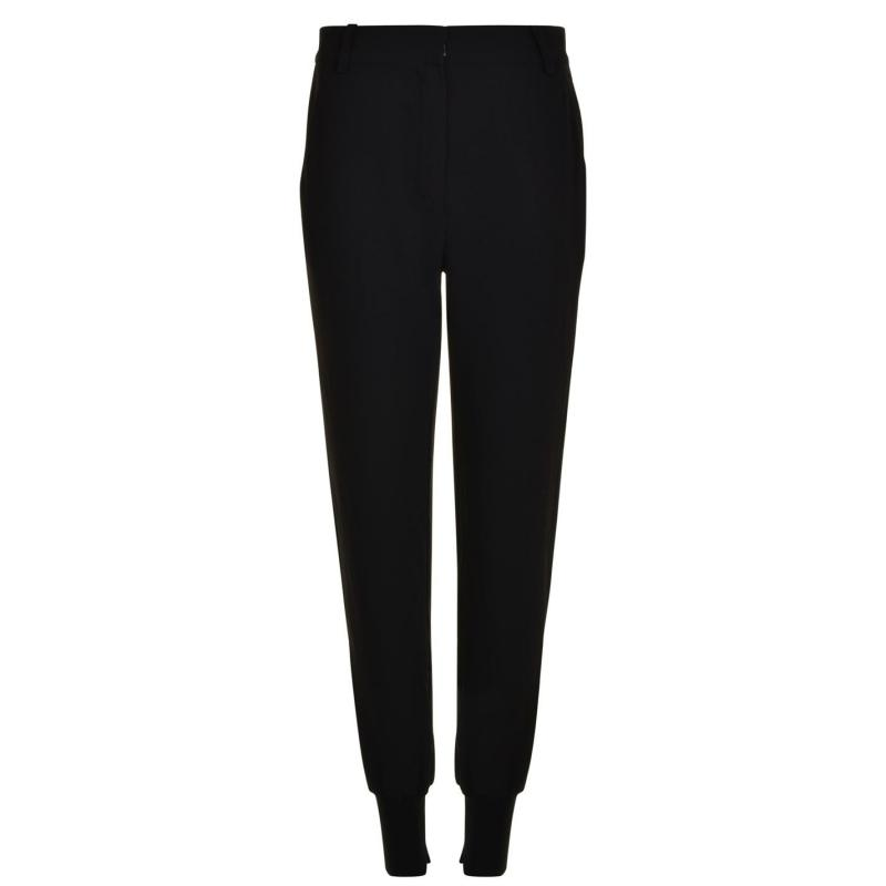Sportovní kalhoty Kendall and Kylie Rise Trousers Black
