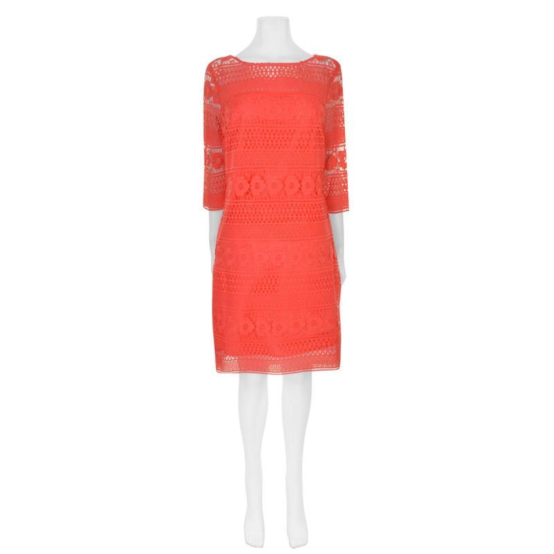 Šaty Laurel Lace Dress Coral