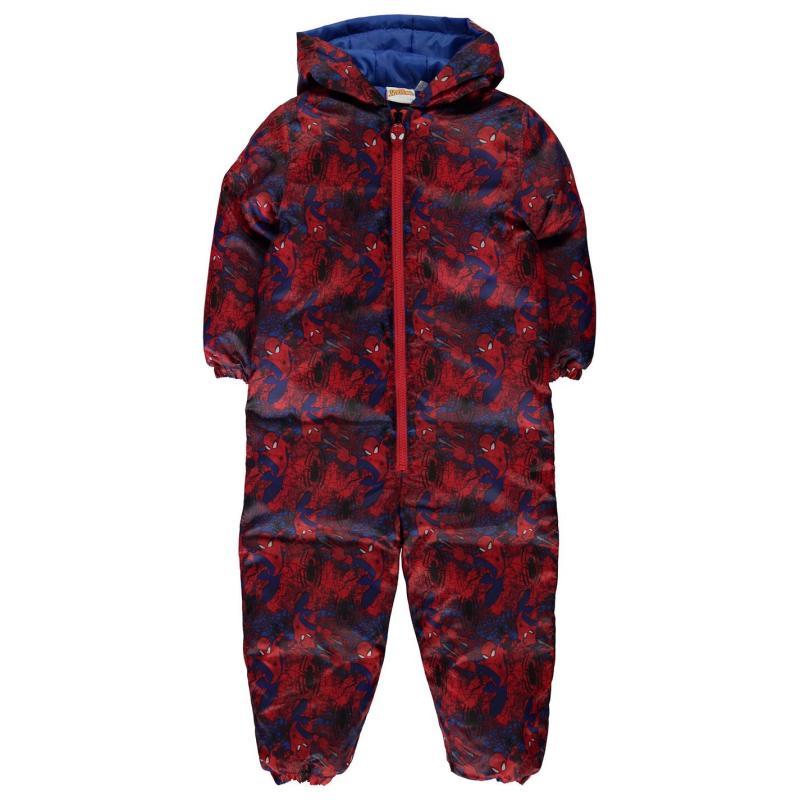 Bunda Character Padded Suit Infant Boys Spiderman