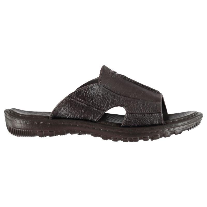 Beppi Slip On Sandals Mens Brown