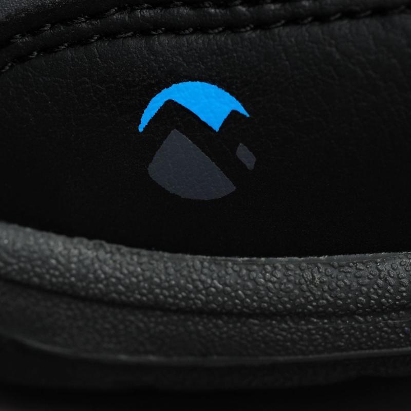 Gelert Ottawa Low Junior Walking Shoes Charcoal/Blue