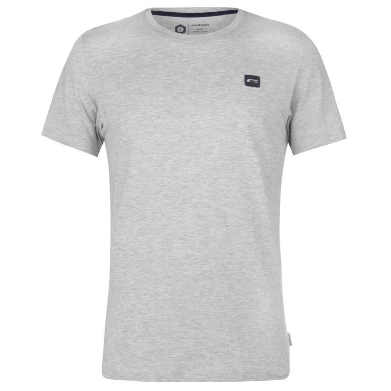 Tričko Jack and Jones Core Corporate T Shirt Light Grey Marl