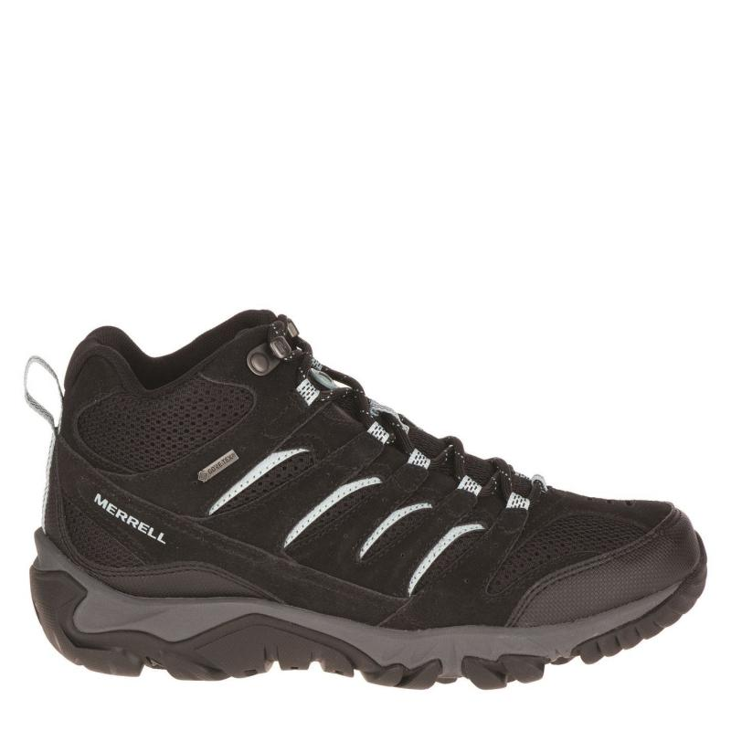 Merrell Pine Ventilator Mid GTX Ladies Walking Shoes Black