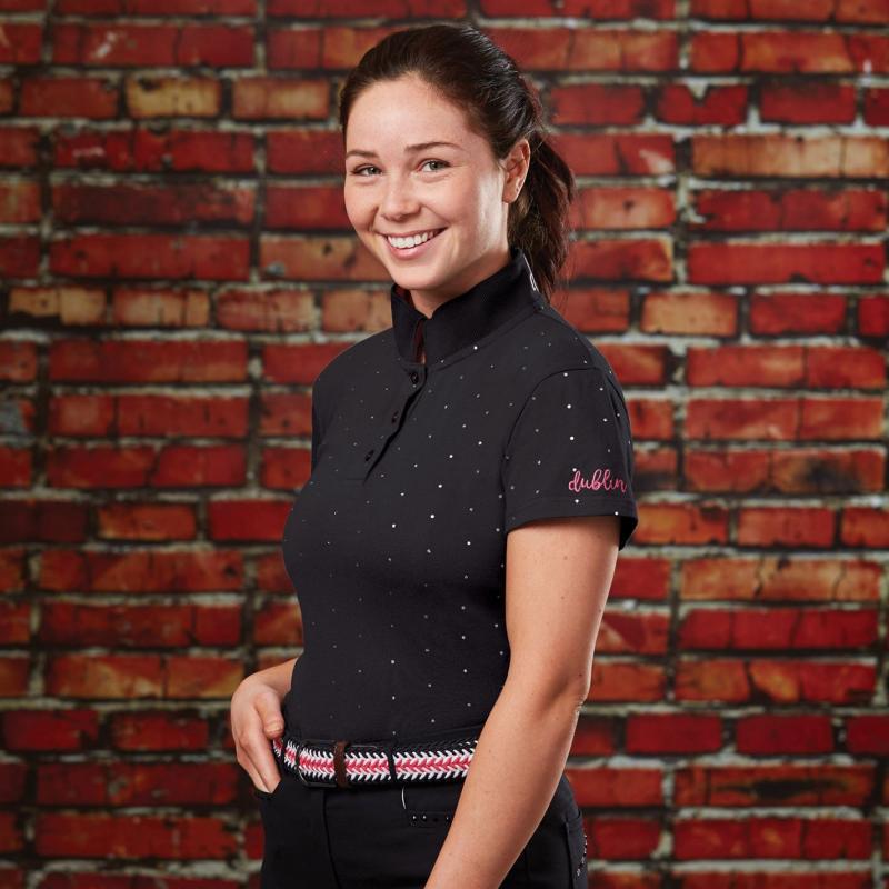 Polokošile Dublin Marine Short Sleeve Polo Shirt Ladies Navy