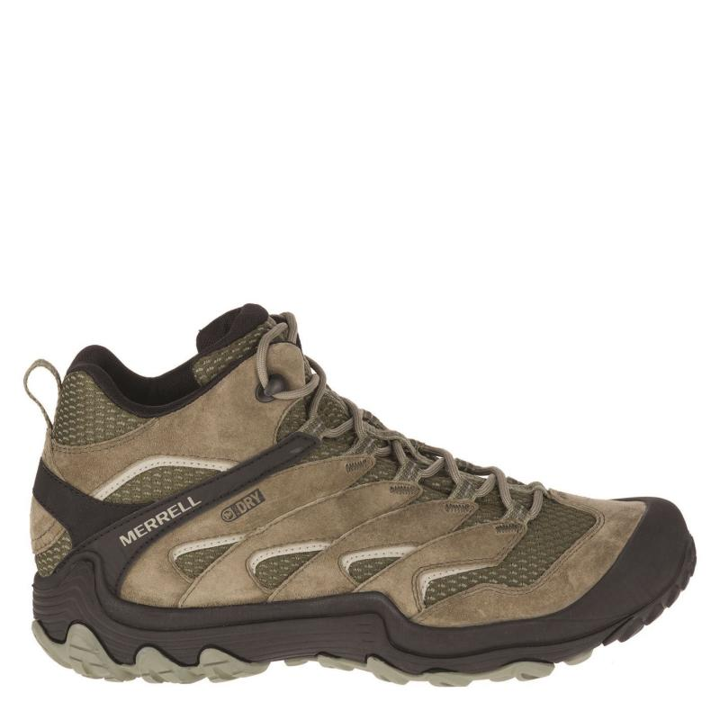 Merrell Charm 7 Walking Boots Mens Dusty Olive