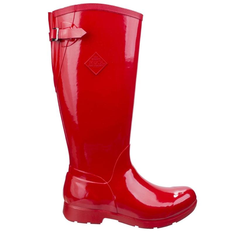 Boty Muck Boot Bergen Tall Boots Red
