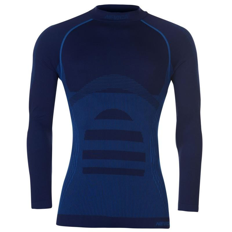 Nevica Banff Seamless Thermal Top Mens Blue