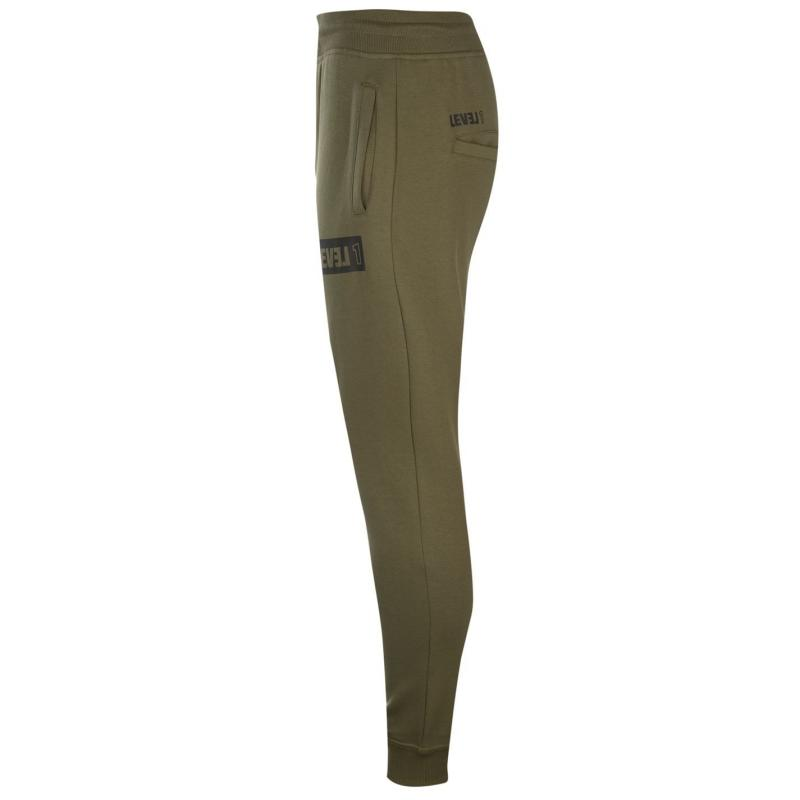 Tepláky Level 1 Repel Jogging Pants Burnt Olive