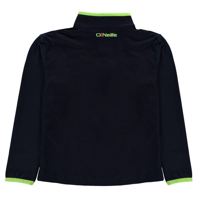ONeills Antrim Tivoli High Zip Pullover Child Girls N Lime/F Pink/M