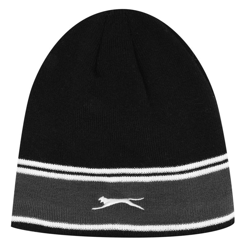 Slazenger Lined Beanie Hat Mens Black
