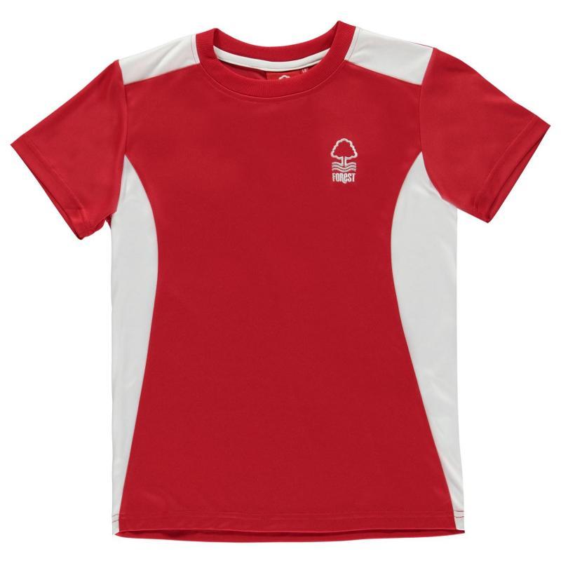 Tričko Source Lab Lab Nottingham Forest Football Club Poly T Shirt Mens Red