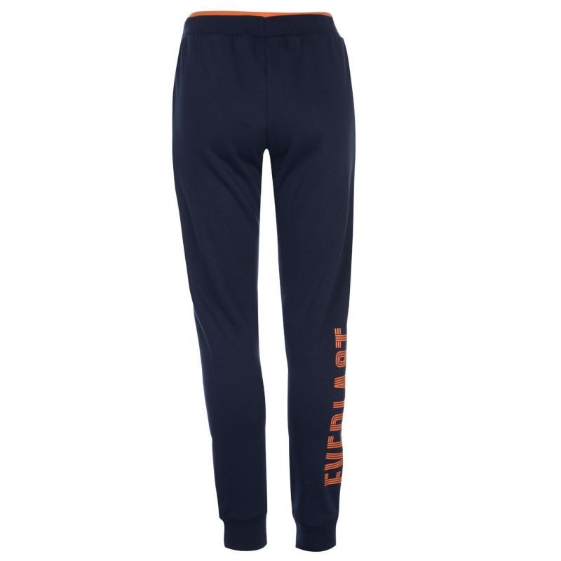 Sportovní kalhoty Everlast Side Logo Jogging Pants Ladies Navy/Orange