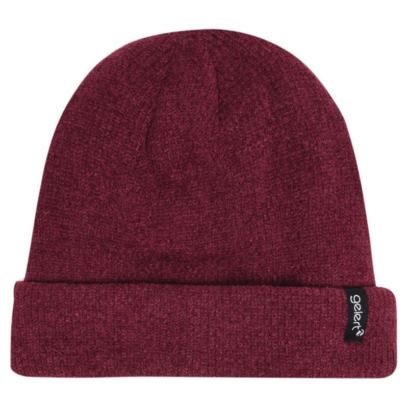 Gelert Chenille Hat Ladies Red