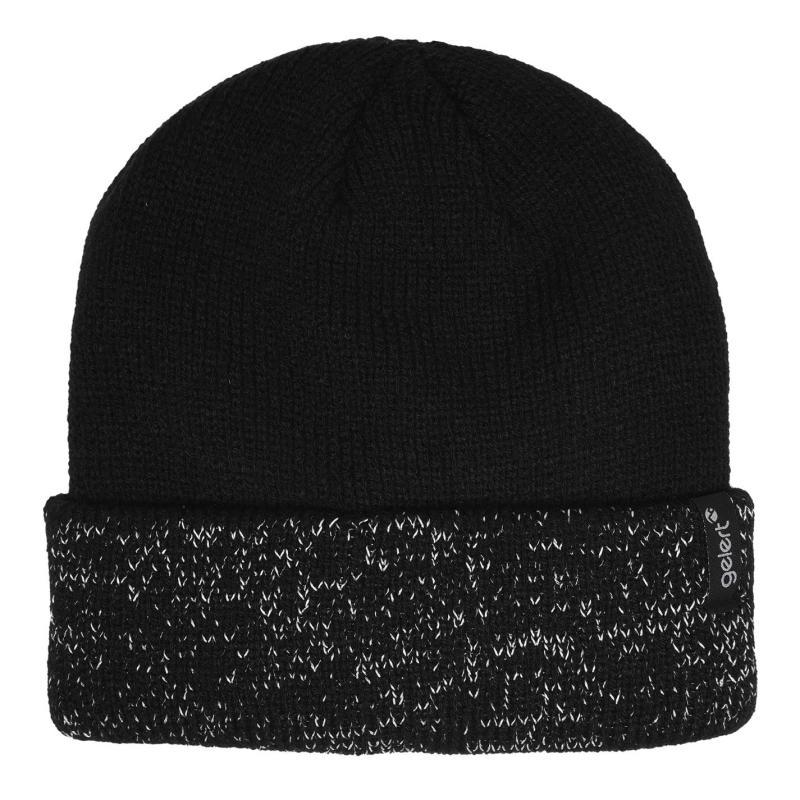 Gelert Reflective Yarn Hat Mens Black