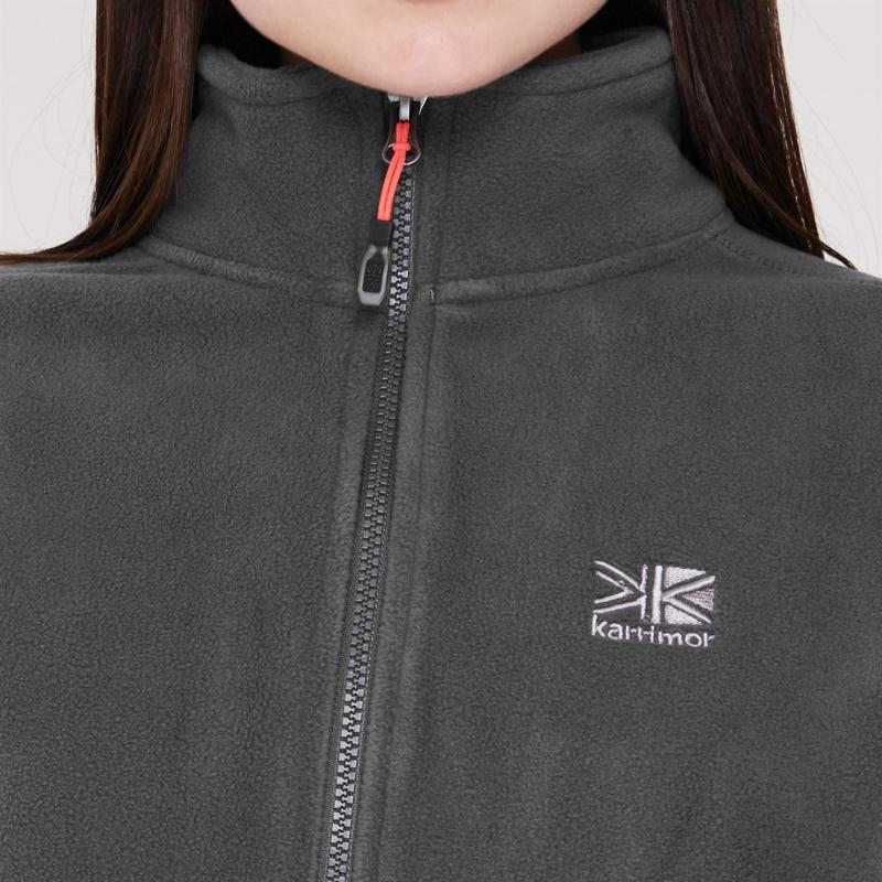Karrimor Fleece Jacket Ladies Grey Coral