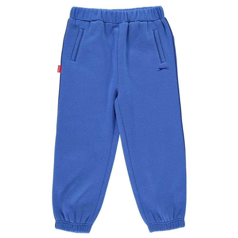 Tepláky Slazenger Closed Hem Fleece Pants Infant Boys Red